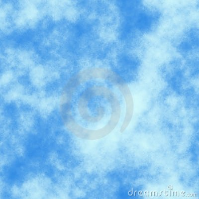 Tile seamless texture blue sky