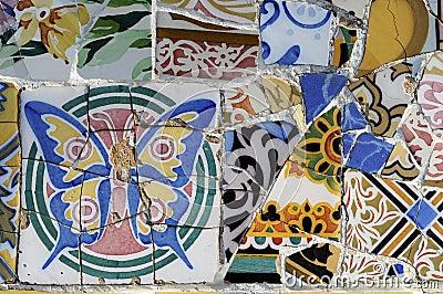 Tile Series 1, Guell Parc