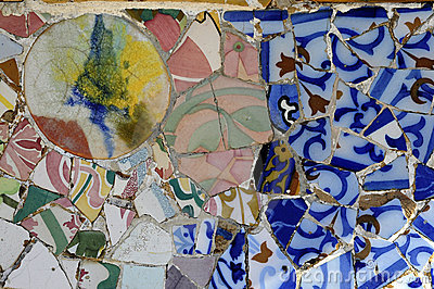 Tile Series 3, Guell Parc