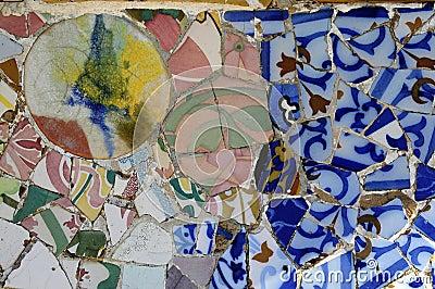 Tile Series 3, Guell Parc