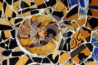Tile Series 4, Guell Parc
