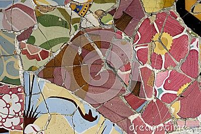 Tile Series 5, Guell Parc