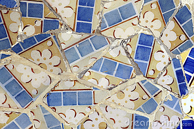 Tile Series 6, Guell Parc