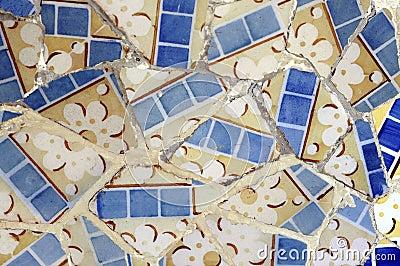 Tile Series 6, Guell Parc
