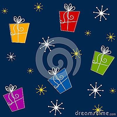 Tileable Christmas Gifts