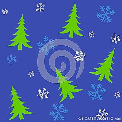 Tileable Christmas Trees 2