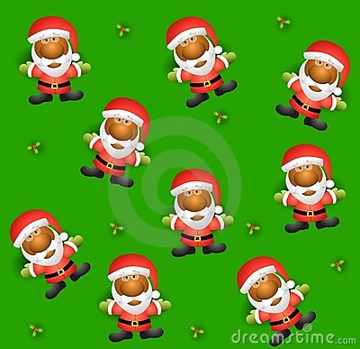Tileable Santa Background 2