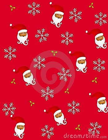 Tileable Santa Claus 2