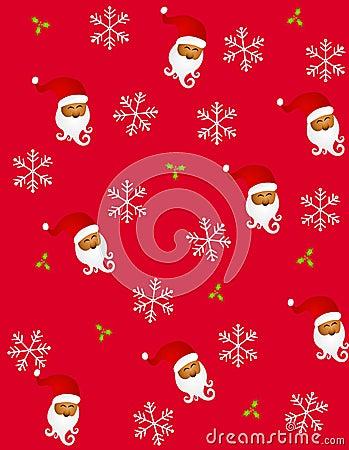 Tileable Santa Claus 2