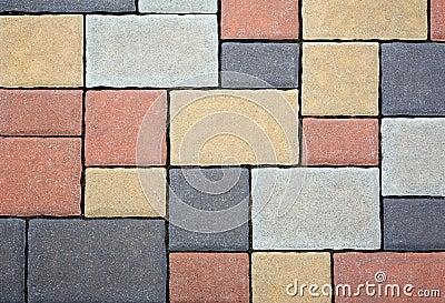 Tiled Floor