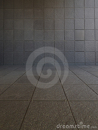 Tiled Room Stock Photo - Image: 15303240