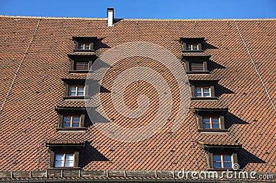 Tiled Rroof