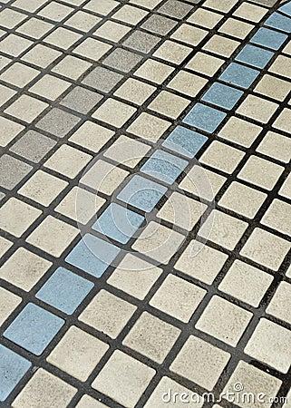 Tiles pavement
