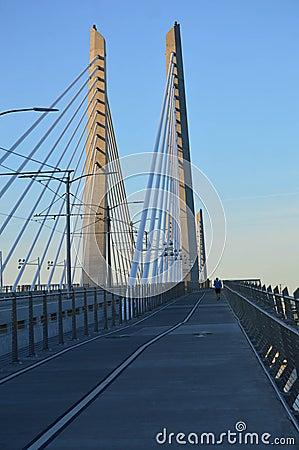 Free Tilikum Crossing Bridge Of The People Stock Photography - 74628172