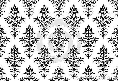Tillable seamless Victorian Wallpaper