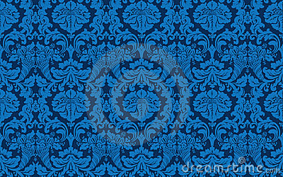 Tillable seamless  Victorian Wallpaper
