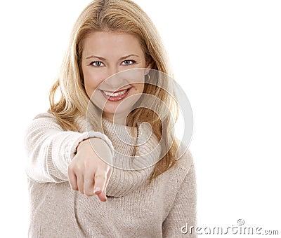 Tillfällig kvinna