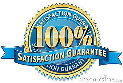 Tillfredsställelse för 100 guarantee