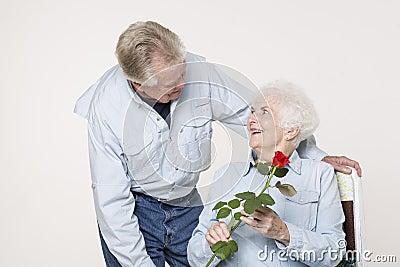 Tillgivna höga par