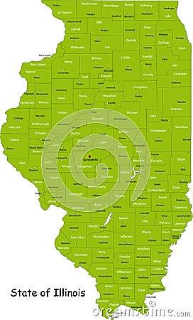 Tillstånd av Illinois