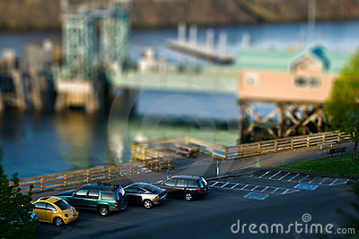 Tilt Shift Parking