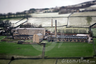 Tilt and shift photo