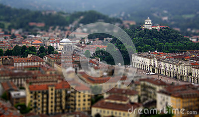 Tilt Shift of Turin