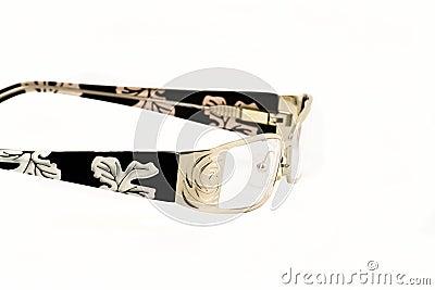 Tilt view at glasses