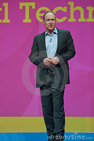 Tim Berners-Lee delivers address to IBM Lotusphere Editorial Image