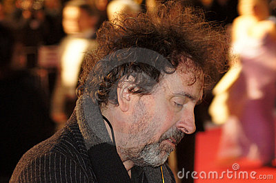 Tim Burton At The King s Speech Premiere Editorial Stock Photo