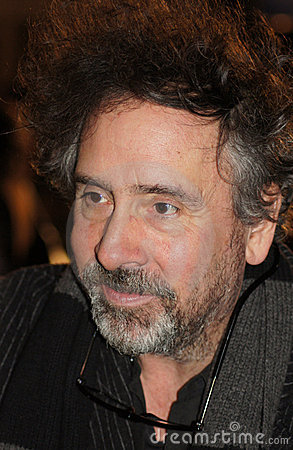 Tim Burton At The King s Speech Premiere Editorial Image