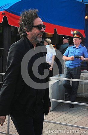 Tim Burton at Moscow Film Festival Editorial Image