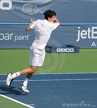 Tim Henman Forehand Editorial Photography
