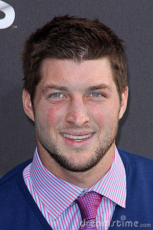 Tim Tebow Editorial Stock Image