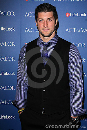 Tim Tebow Editorial Stock Photo