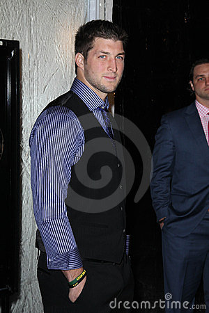 Tim Tebow Editorial Photo