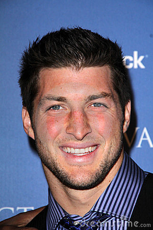 Tim Tebow Editorial Photography