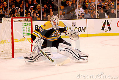 Tim Thomas Boston Bruins Editorial Stock Photo