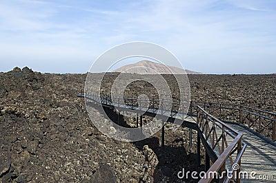Timanfaya lava flow
