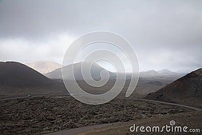 Timanfaya National Park,
