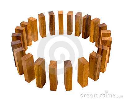 Timber Block Circle Metaphor