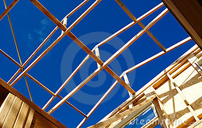 Timber frame roof structure