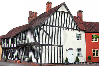 Timber framed house, Lavenham, England