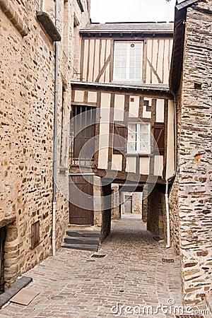 Timber Framed House in Vitre