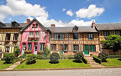 Timber Framed Normandy Houses