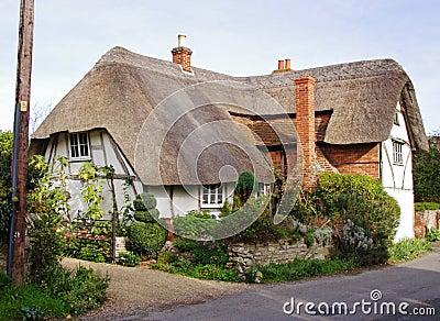 Timber Framed Thatched Village Cottage