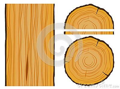 Timber and wood texture with elements