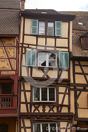 Timbered houses of Colmar