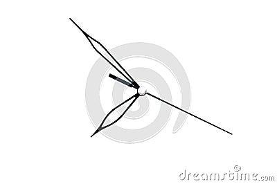 Time arrow Stock Photo