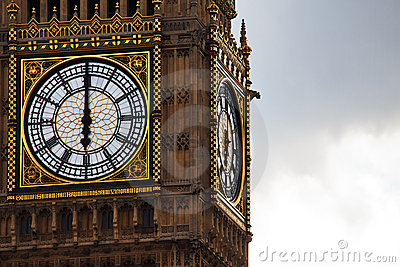Time on Big Ben